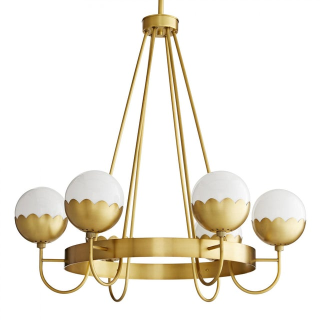 Celerie Kemble for Arteriors Cleo Chandelier For Sale - Image 12 of 12