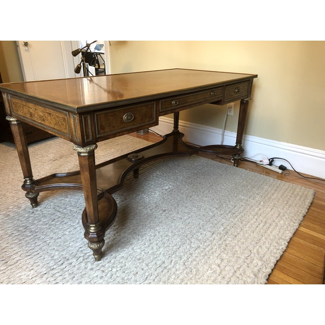 Traditional Theodore Alexander Writing Desk For Sale - Image 3 of 11