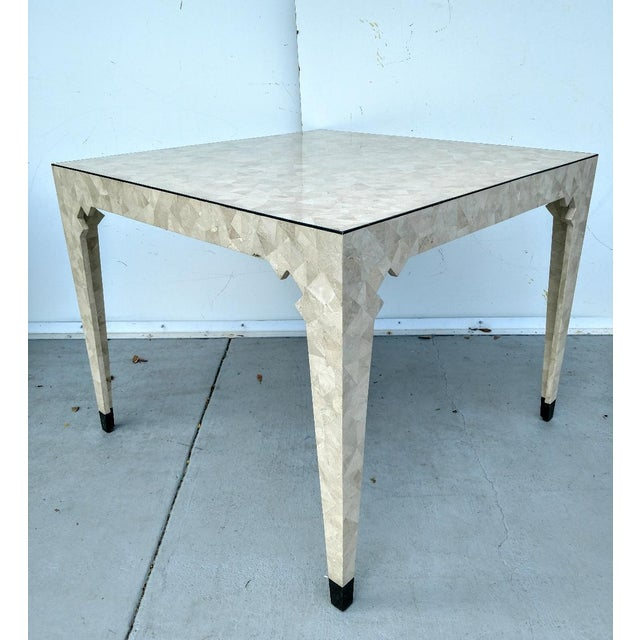 Oggetti Tessellated Stone Table, Vintage For Sale - Image 10 of 10