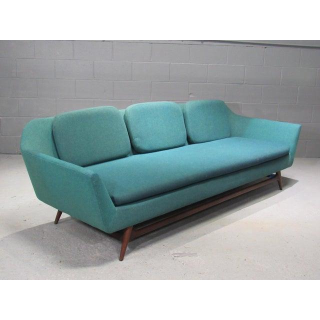 1950s 1950s Vintage Danish Modern Sofa For Sale - Image 5 of 5