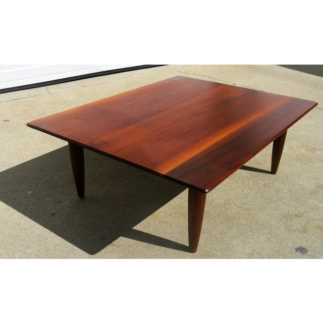 Mid-Century Low Coffee Table - Image 2 of 6