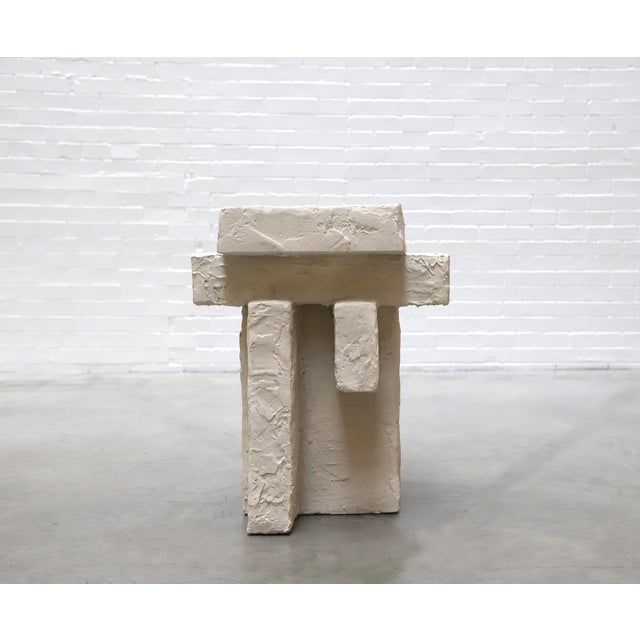 "As part of the ""To Live With Series,"" focus is placed on the preservation of weight and mass, and their sculptural..."