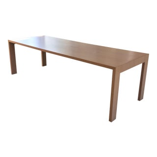 Jasper Morrison for Cappellini Natural Oak Gamma Table
