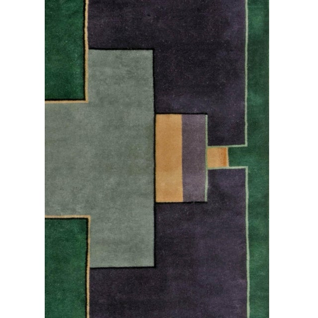 Vintage Chinese Deco Rug For Sale In New York - Image 6 of 9