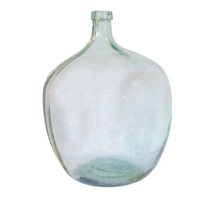 Czech Handblown Glass Wine Vessel - Image 1 of 4