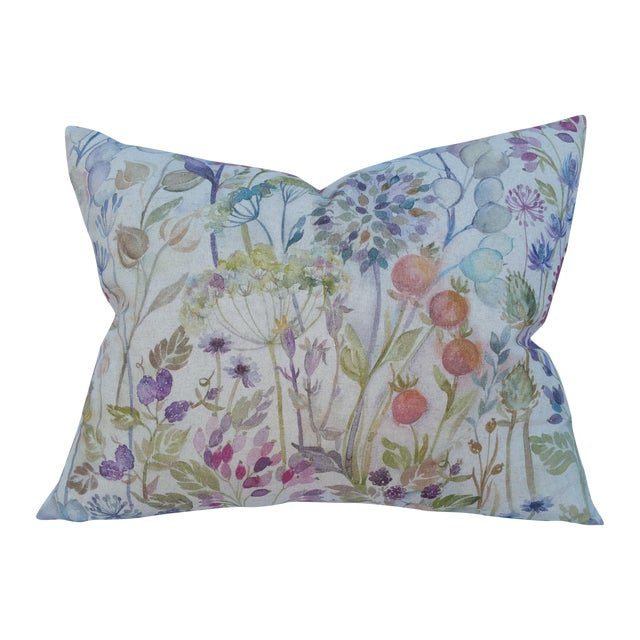 Linen Seed Head Pillow - Image 1 of 7