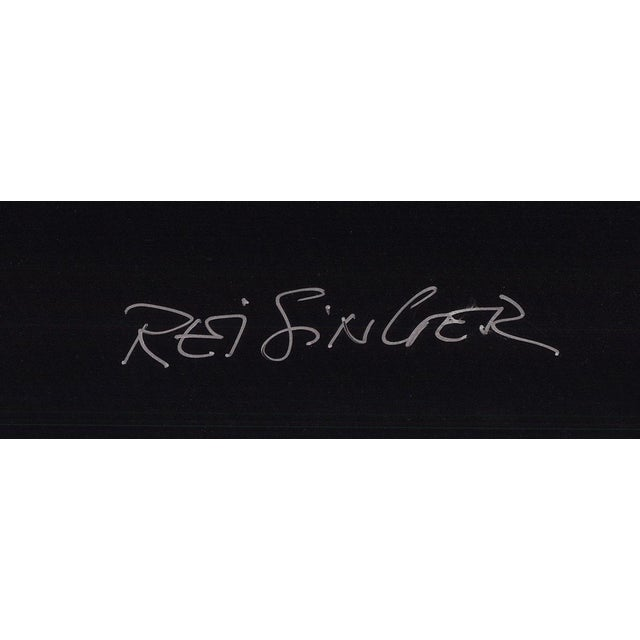Poster Auction by Dan Reisinger, Signed 1994 Lithograph, edition size of 200.39.5 x 27 inches