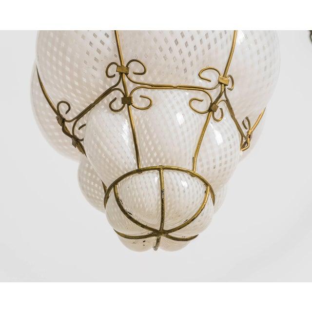 1960s Italian Handblown Murano Lantern For Sale - Image 5 of 9