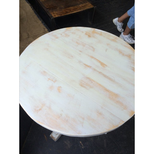 Shabby Chic Style White Dinette Table - Image 5 of 5
