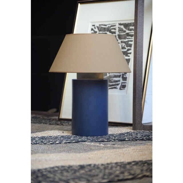 Bolet Midnight Blue & String Table Lamp - Small For Sale - Image 4 of 6