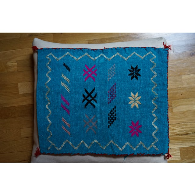 Moroccan Handmade Pillow - Image 5 of 5