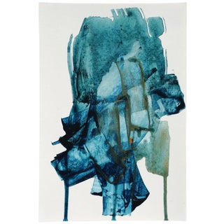 Dani Schafer Abstract Painting - Night Study 3 For Sale
