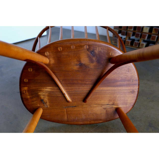 Mid Century John Onstine Handcrafted Continuous Armchair For Sale - Image 9 of 10