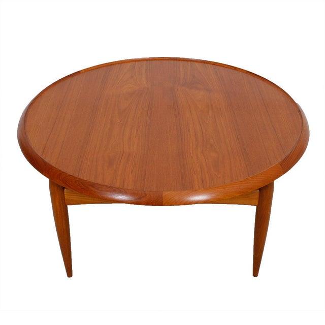 Danish Modern Teak Finn Juhl Style Reversible Coffee Table - Image 1 of 10