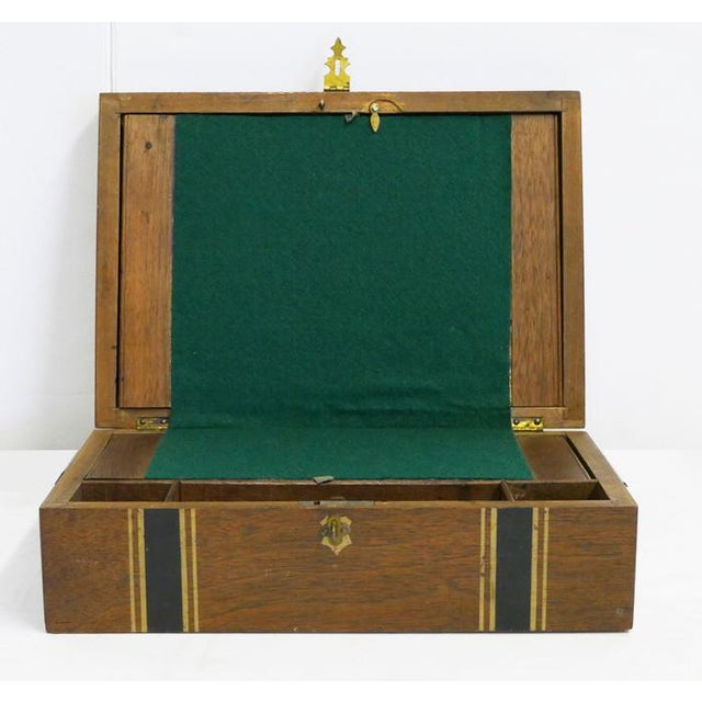 American Antique Portable Writers Desktop For Sale - Image 3 of 5