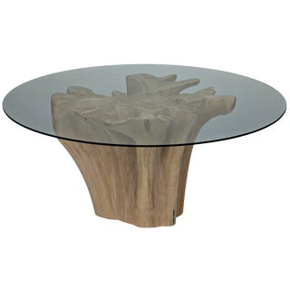 Bonsai Table With Glass Top For Sale