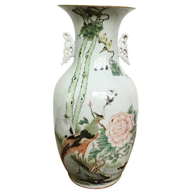 Late 19th-C. Yongzheng-Style Chinese Vase - Image 1 of 11