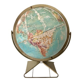 Midcentury Atomic Globe For Sale