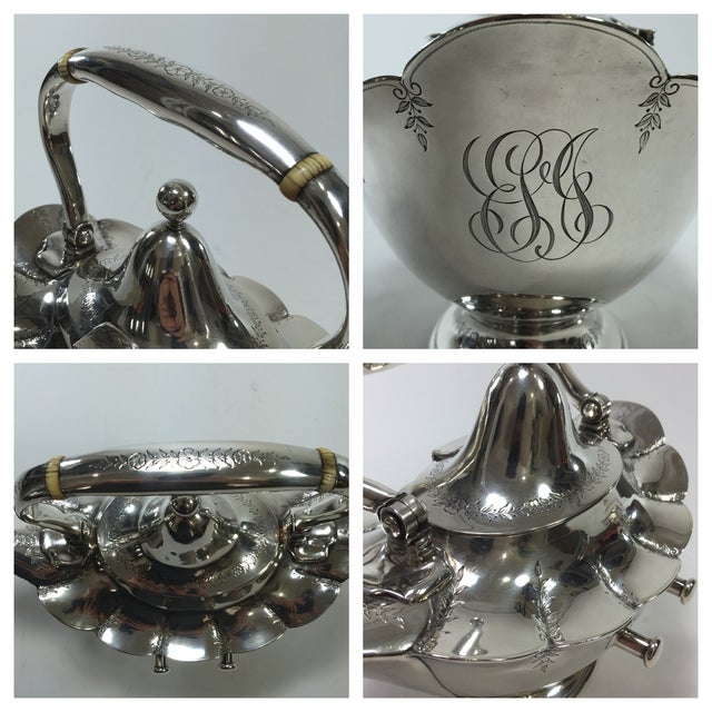 Tiffany & Co. Antique Sterling Silver Tea Pot - Image 6 of 11