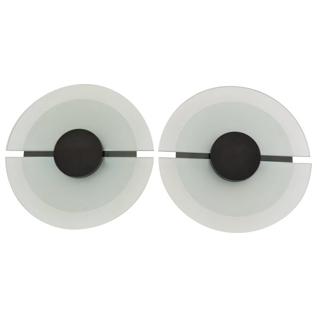 Pair of Post-Modern Wall Sconces For Sale - Image 11 of 11