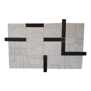 Modern Frieze Three-Dimensional Wall Art Paul Marra For Sale
