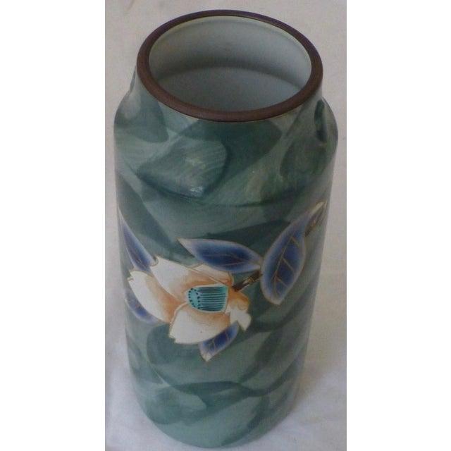 Vintage Japanese Studio Pottery Vase With Label Chairish