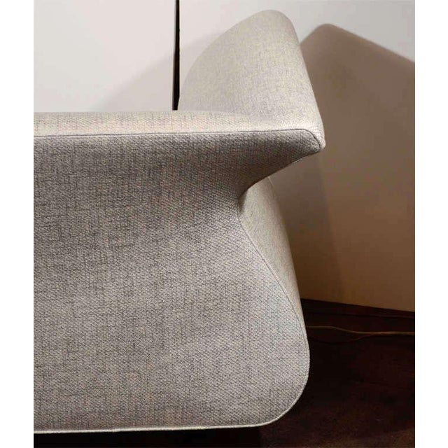 Hollywood Regency Swan Sofa Designed by Dialogica For Sale - Image 9 of 11