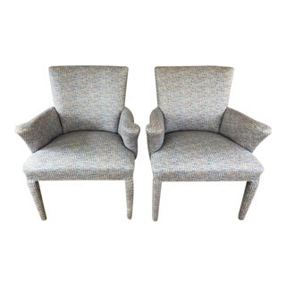 Mid-Century Danish Upholstered Chairs - a Pair For Sale