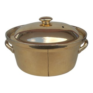 "Hall China ""Golden Glo"" Collection Covered Casserole For Sale"