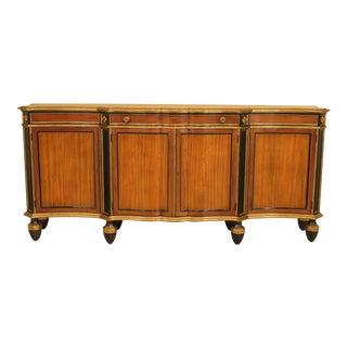 Baker Regency Style Satinwood & Ebony Sideboard or Console