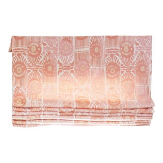 Pink Ikat Roman Shade For Sale