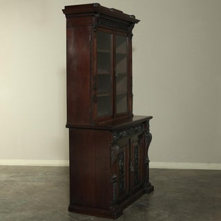 19th Century Renaissance Revival Bookcase With Angels~ Putti Preview