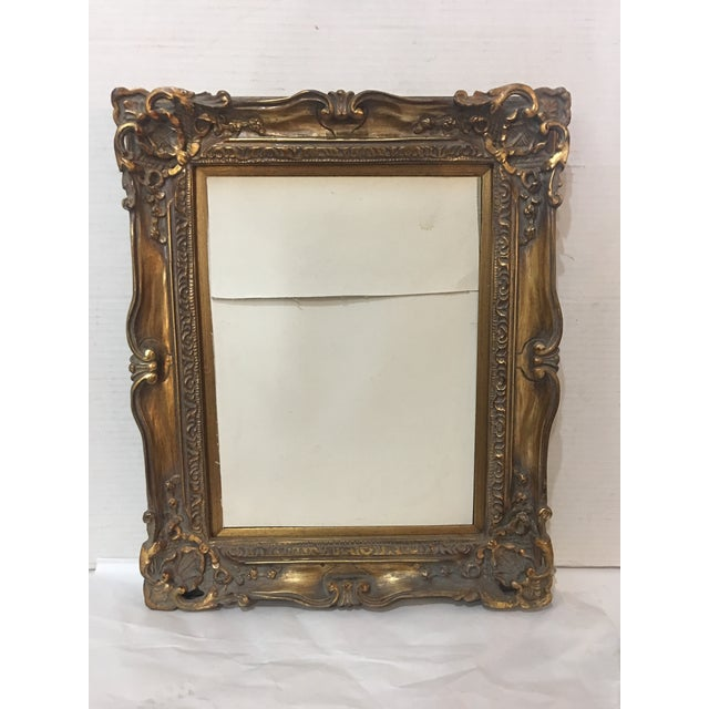 Wood And Gesso Gilt Frame Chairish