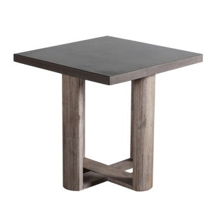 Lando Cement Side Table For Sale