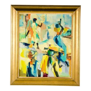 Abstract Expressionist Painting by Denton