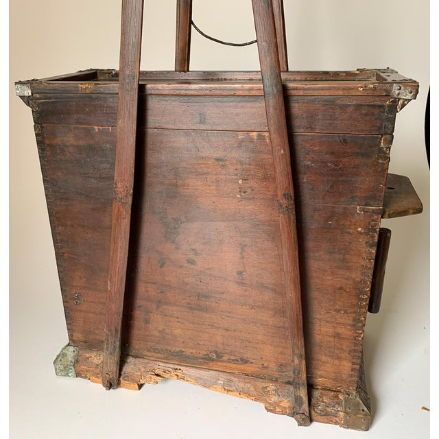 1910s Chinese Bellows Cabinet For Sale - Image 10 of 13