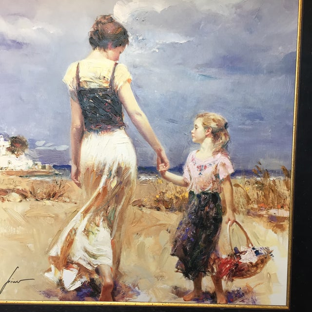 """Let's Go Home"" Painting by Pino Daemi For Sale - Image 7 of 9"