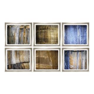 """Trowbridge """"Organic Landscapes"""" Prints By Karen Burgess - Set of 6"""