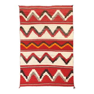 """Classic Vintage Pueblo Navajo Rug, 3' X 5'4"""" For Sale"""