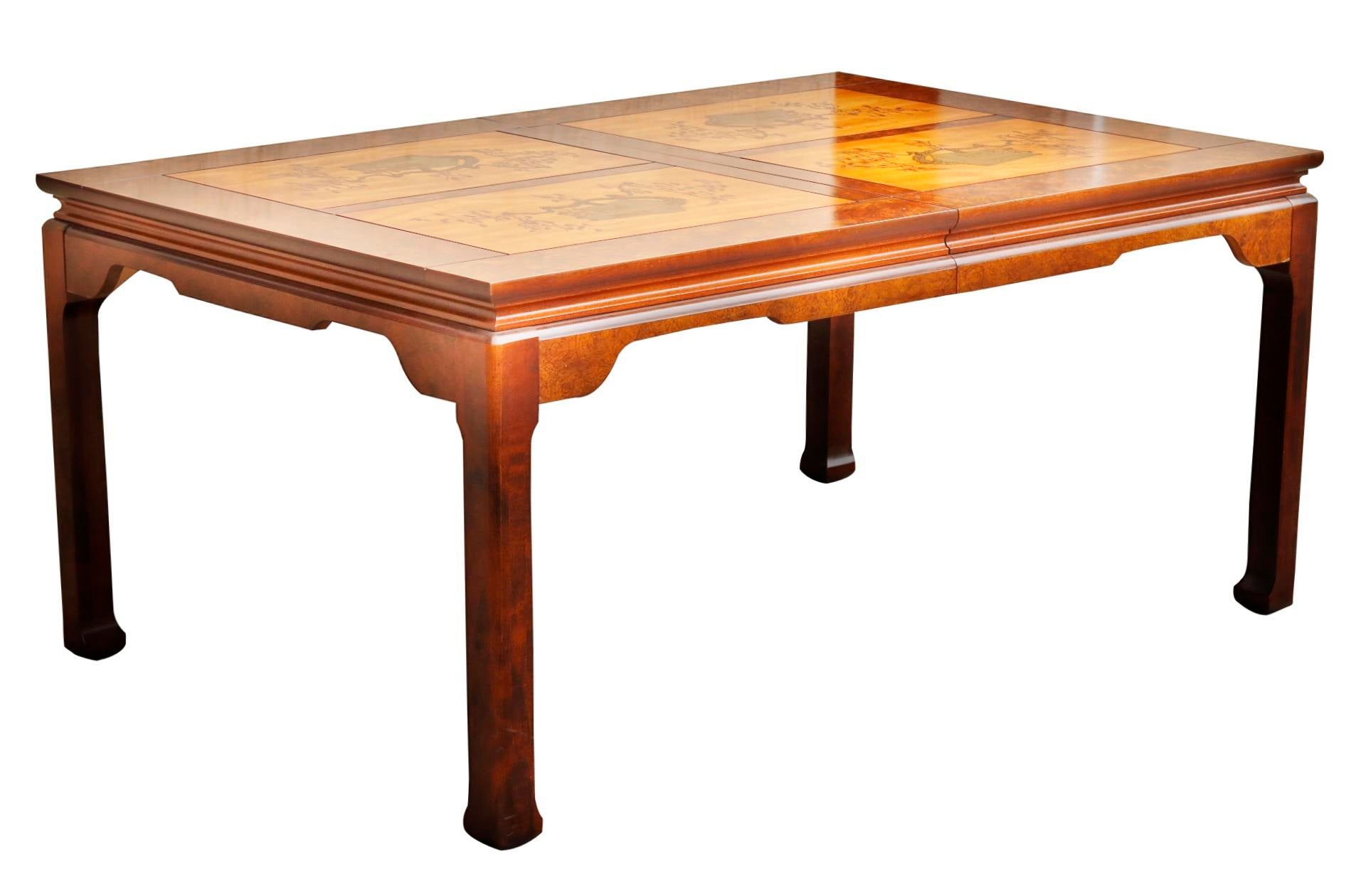 Ming Style Dining Table By Bassett Furniture Company   Image 2 Of 6