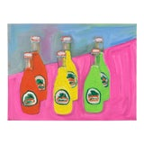 "Image of ""Sodas"" Oil Painting For Sale"