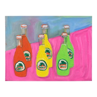 """Sodas"" Oil Painting For Sale"