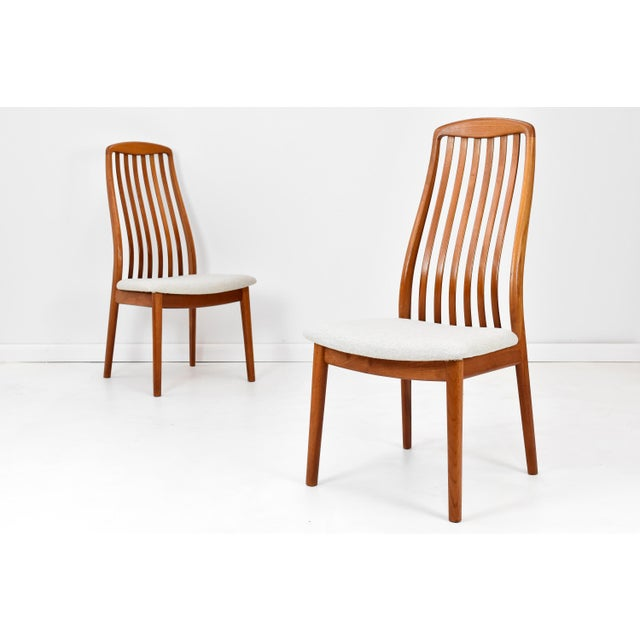 Danish Modern Danish Modern Teak Dining Chairs by Edward Valentinsen - Set of Six For Sale - Image 3 of 13