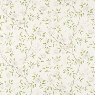 Chinese Zoffany Romey's Garden Wallpaper For Sale