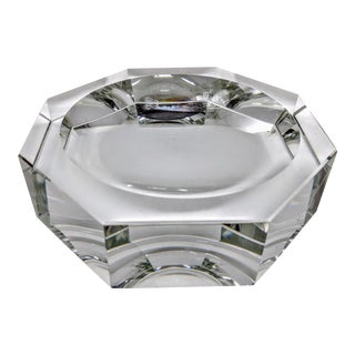 Octagon Crystal Candy Dish Bowl For Sale