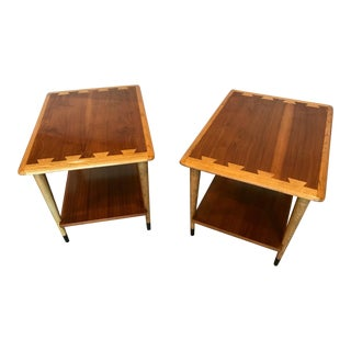 1960s Mid-Century Modern Lane Acclaim Side Tables - a Pair For Sale