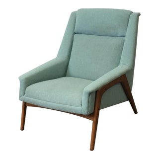Mid-Century Dux Style Lounge Chair For Sale