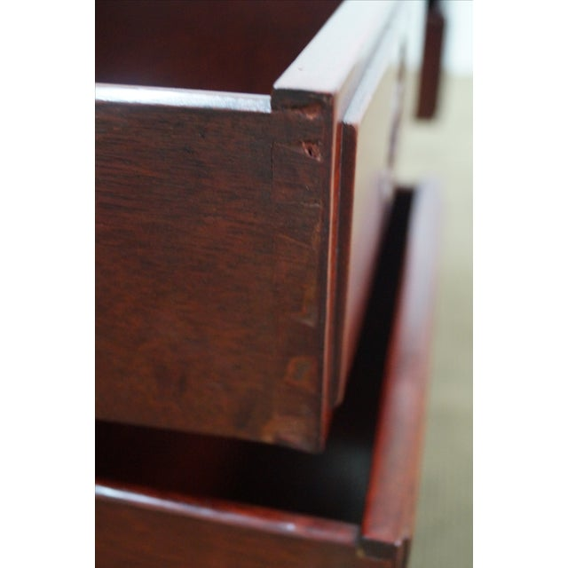Quality Solid Rosewood Chinese Writing Desk AGE/COUNTRY OF ORIGIN: Approx 35 years, Asia DETAILS/DESCRIPTION: High...