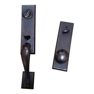 Dark Bronze Entry Door Hardware