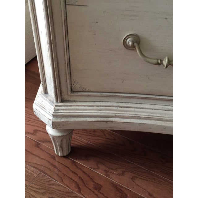 Contemporary Antique White Painted Five Drawer Chest - Image 4 of 6